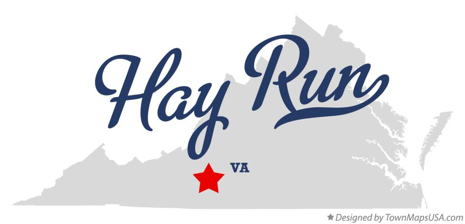 Map of Hay Run Virginia VA