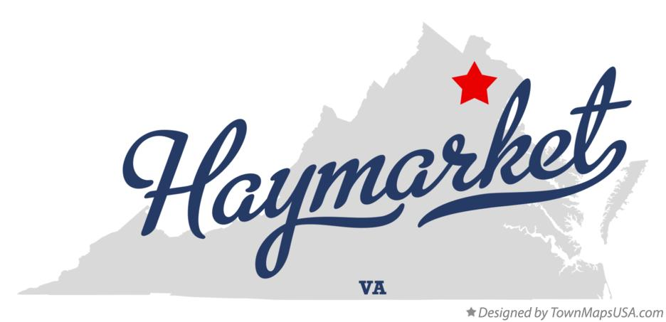 Map of Haymarket Virginia VA