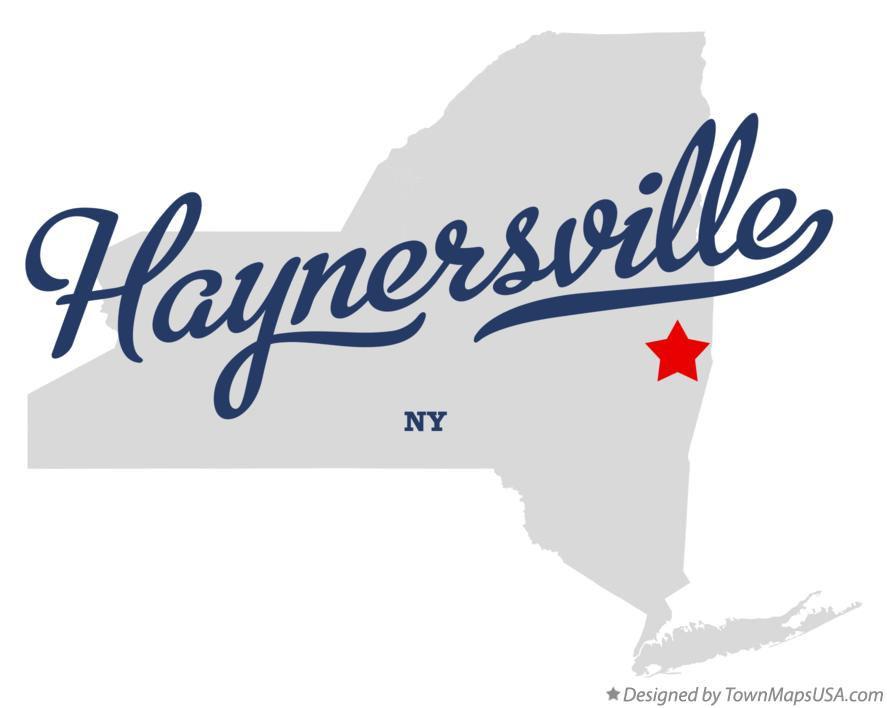 Map of Haynersville New York NY