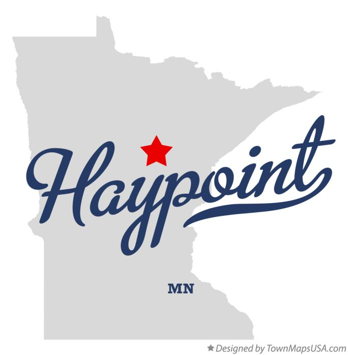 Map of Haypoint Minnesota MN