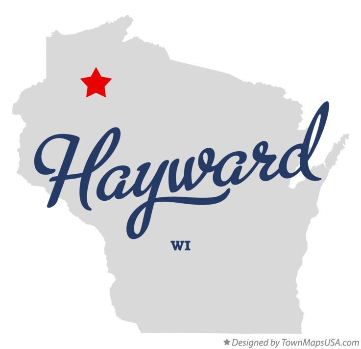 Map Of Hayward Wi Wisconsin