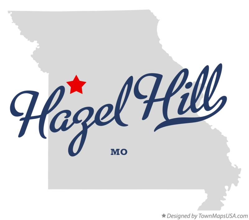 Map of Hazel Hill Missouri MO
