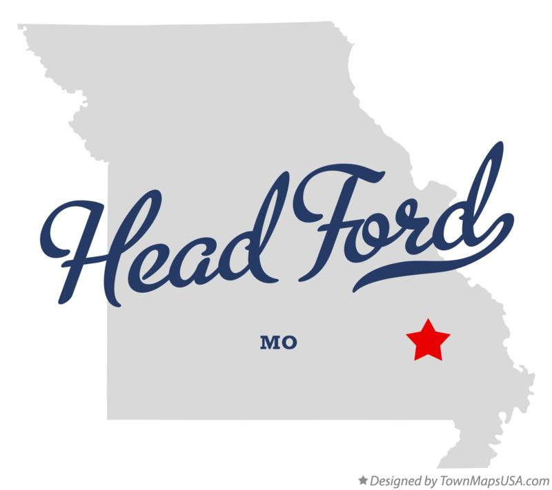 Map of Head Ford Missouri MO