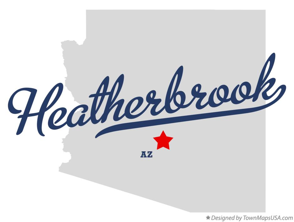 Map of Heatherbrook Arizona AZ