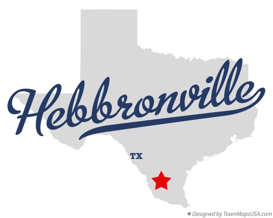 Map of Hebbronville Texas TX