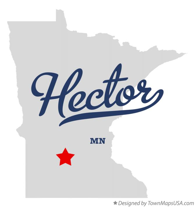 Map of Hector Minnesota MN