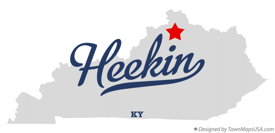 Map of Heekin Kentucky KY