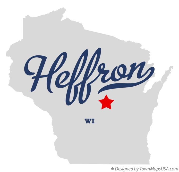 Map of Heffron Wisconsin WI