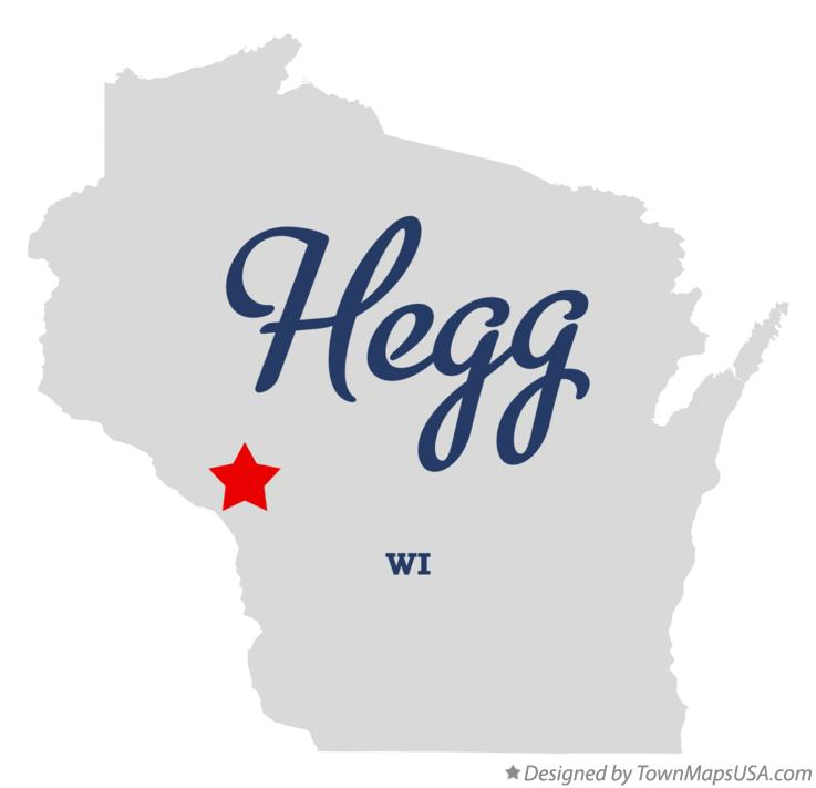 Map of Hegg Wisconsin WI