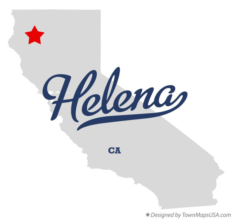 Map of Helena California CA