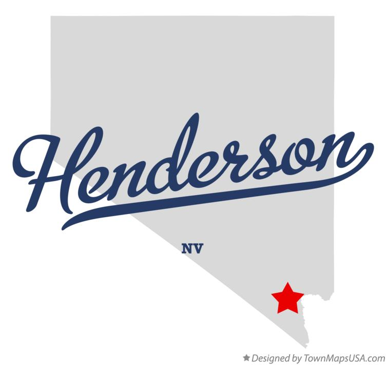 Map of Henderson Nevada NV