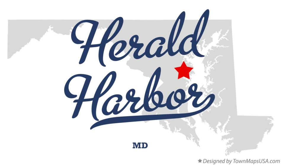 Map of Herald Harbor Maryland MD