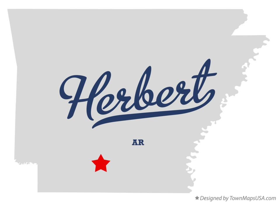 Map of Herbert Arkansas AR