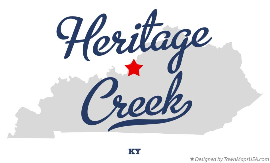 Map of Heritage Creek Kentucky KY