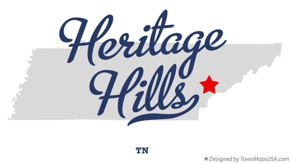 Map of Heritage Hills Tennessee TN