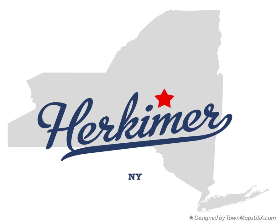 Map of Herkimer New York NY