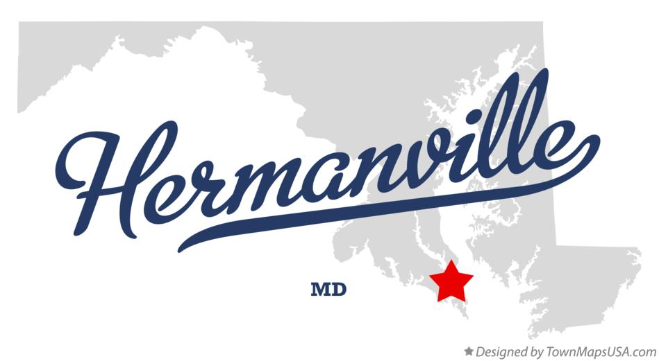 Map of Hermanville Maryland MD