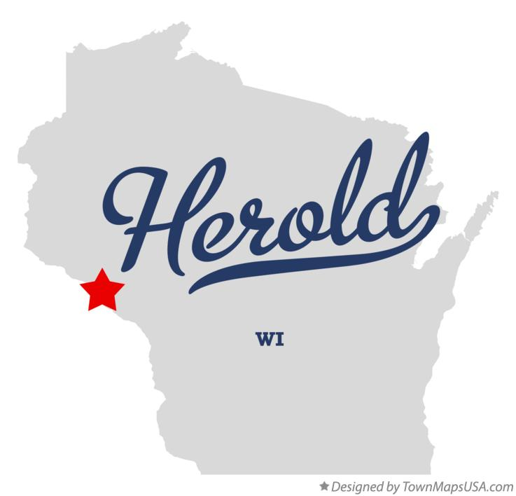 Map of Herold Wisconsin WI