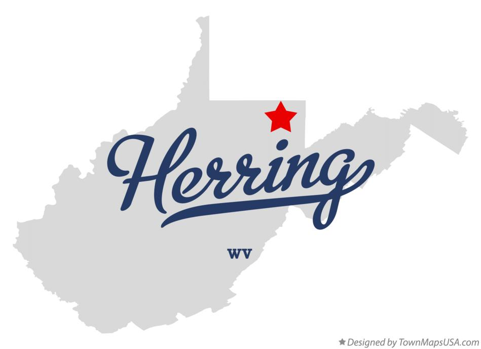 Map of Herring West Virginia WV