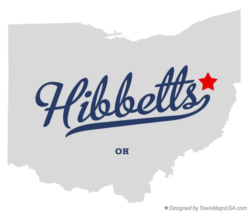 Map of Hibbetts Ohio OH
