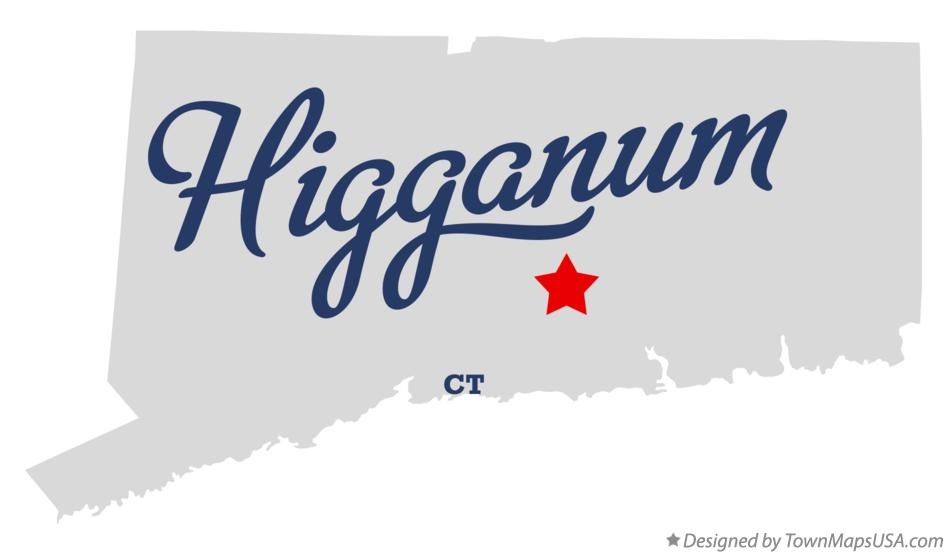 Map of Higganum Connecticut CT