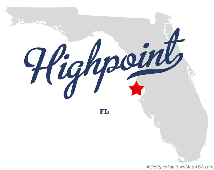 Map of Highpoint Florida FL