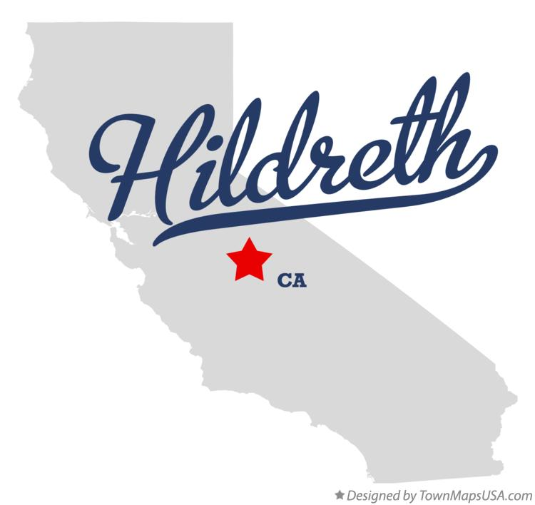 Map of Hildreth California CA