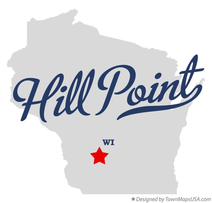 Map of Hill Point Wisconsin WI