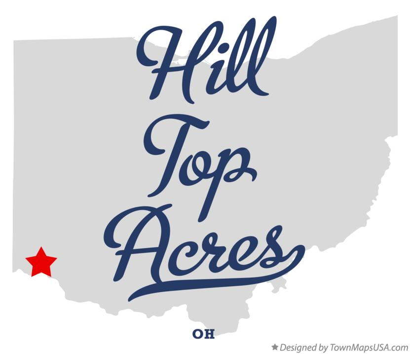 Map of Hill Top Acres Ohio OH