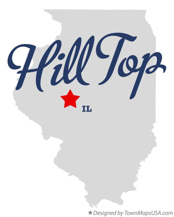 Map of Hill Top Illinois IL
