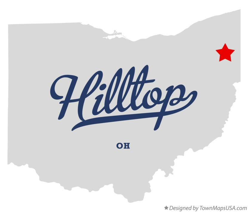 Map of Hilltop Ohio OH