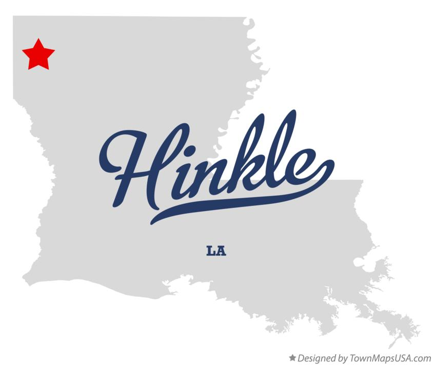 Map of Hinkle Louisiana LA