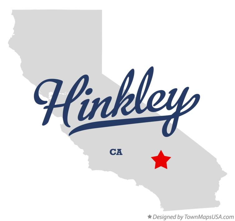 Map of Hinkley California CA