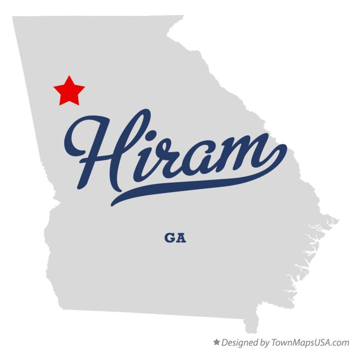 Austell Georgia Map Map of Hiram Georgia ga
