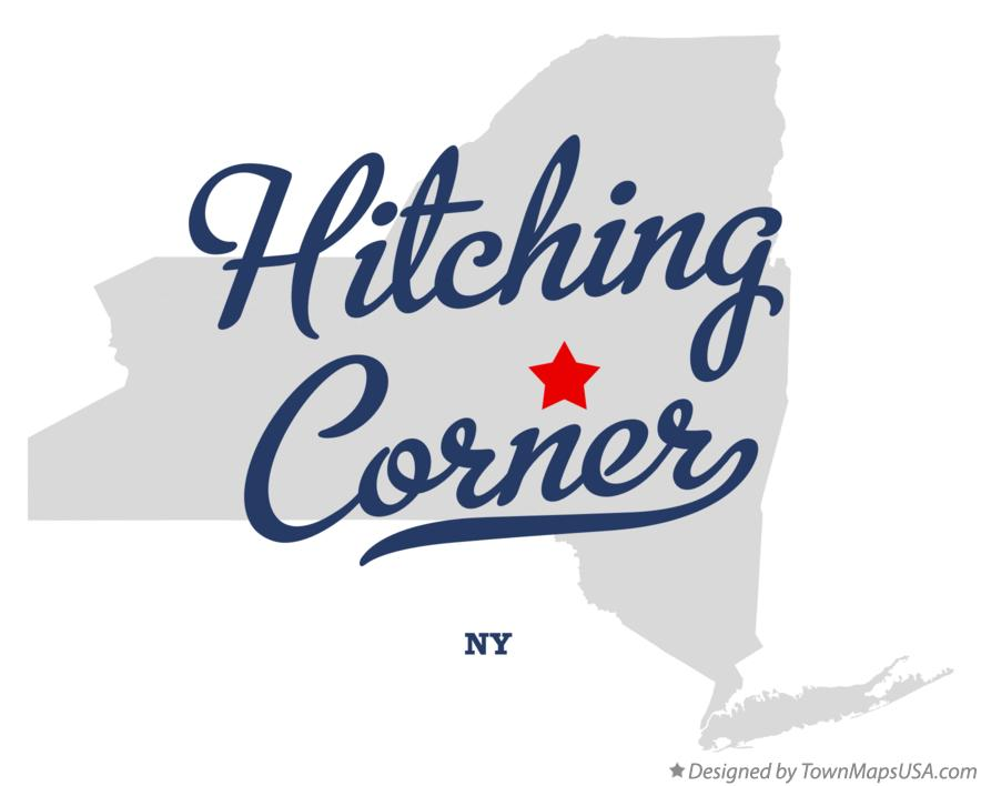 Map of Hitching Corner New York NY