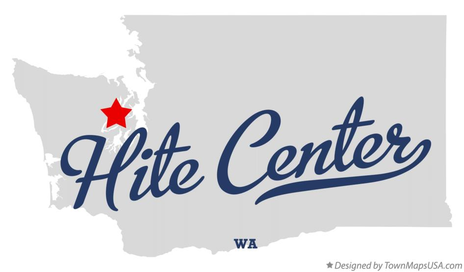 Map of Hite Center Washington WA