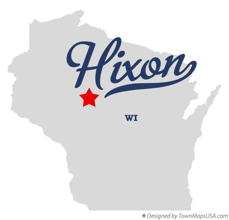 Map of Hixon Wisconsin WI
