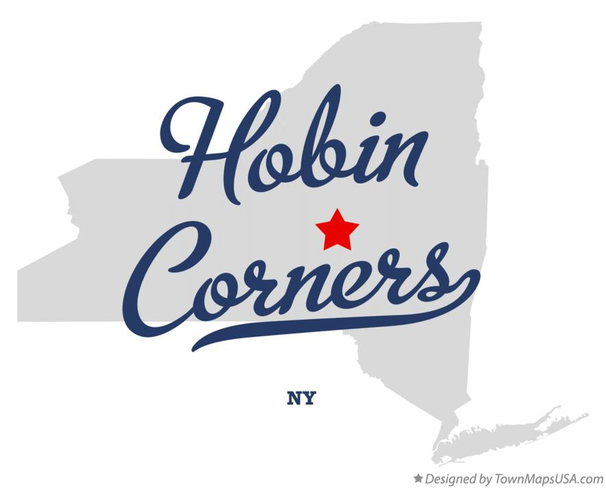 Map of Hobin Corners New York NY