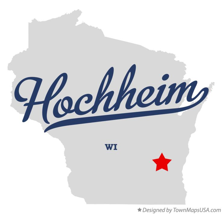 Map of Hochheim Wisconsin WI