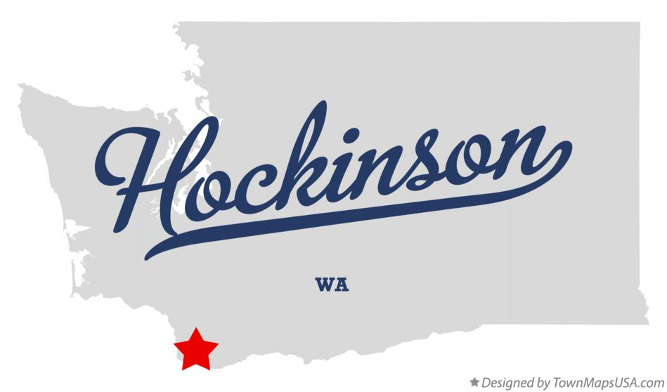 Map of Hockinson Washington WA