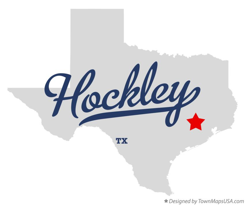 Map of Hockley Texas TX