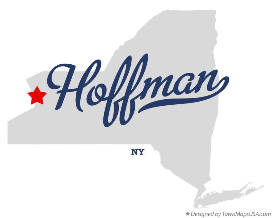 Map of Hoffman New York NY