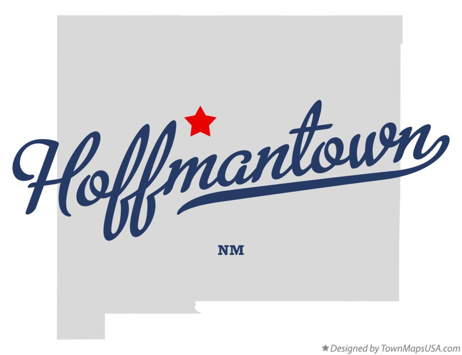Map of Hoffmantown New Mexico NM
