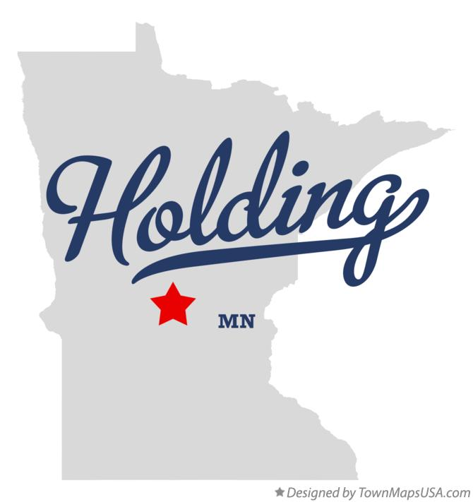 Map of Holding Minnesota MN