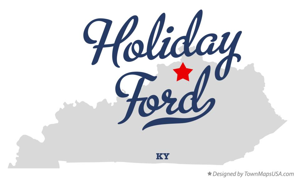 Map of Holiday Ford Kentucky KY