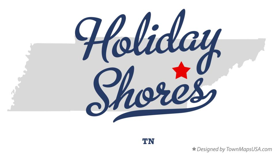 Map of Holiday Shores Tennessee TN