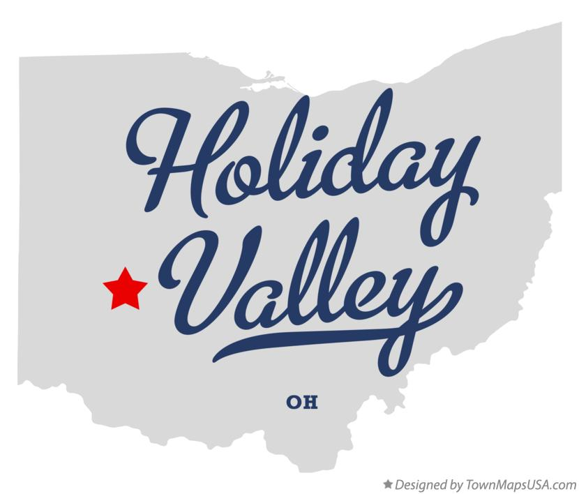 Map of Holiday Valley Ohio OH