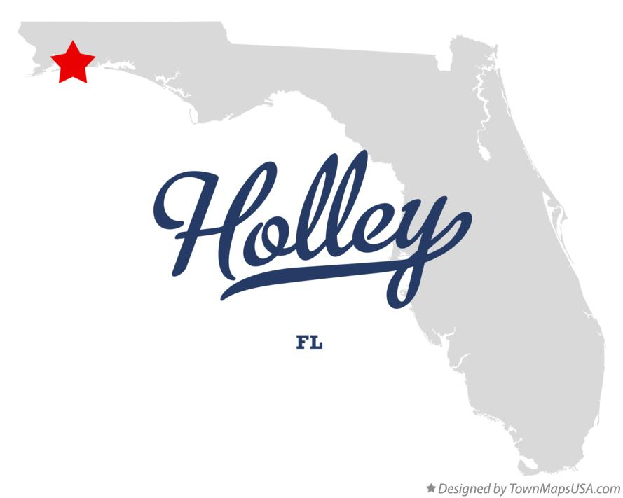 Map of Holley Florida FL