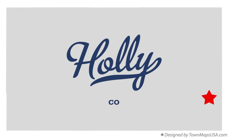 Map of Holly Colorado CO
