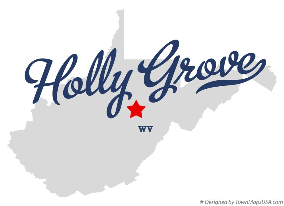 Map of Holly Grove West Virginia WV